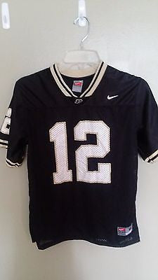 NIKE PURDUE BOILERMAKERS FOOTBALL JERSEY SIZE MED  YOUTH