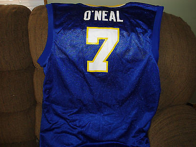 INDIANA PACERS JERMAINE O'NEAL JERSEY SIZE XL  ADULT THROWBACK
