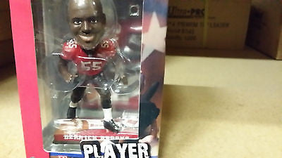 Tampa Bay Buccaneers Derrick Brooks Forever Collectibles On Field Bobble Head