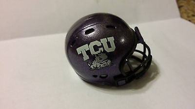 TCU HORNED FROGS THROWBACK POCKET PRO HELMET RIDDELL REVOLUTION
