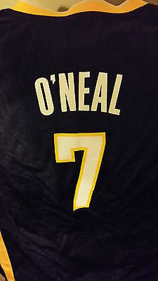 INDIANA PACERS JERMAINE O'NEAL BASKETBALL JERSEY SIZE LARGE YOUTH ADIDAS