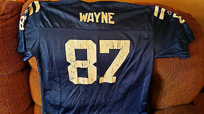 INDIANAPOLIS COLTS REGGIE WAYNE FOOTBALL JERSEY SIZE XL YOUTH TEAM REEBOK