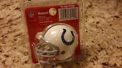 INDIANAPOLIS COLTS POCKET PRO HELMET RIDDELL TRADITIONAL