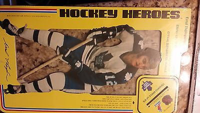 1975 CARTON CRAFT CORP TORONTO MAPLE LEAFS ERROL THOMPSON AD STAND CARD