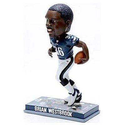 Philadelphia Eagles Brian Westbrook Forever Collectibles Photo Base Bobble Head