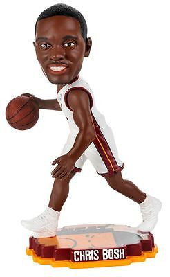 Miami Heat Chris Bosh Forever Collectibles Court Base Bobble Head