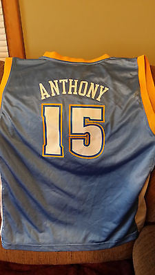 DENVER NUGGETTS CARMELO ANTHONY BASKETBALL JERSEY SIZE XL 18-20  YOUTH