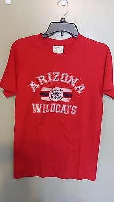 VINTAGE LOGO ARIZONA WILDCATS T SHIRT SIZE SMALL  ADULT