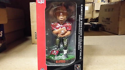 Tampa Bay Buccaneers Mike Alstott Game Worn Forever Collectibles Bobble Head