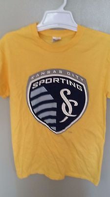 SPORTING KC SPRINT T SHIRT SIZE SMALL ADULT