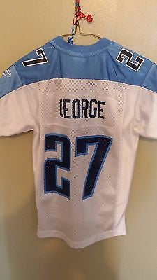TENNESSEE TITANS EDDIE GEORGE  FOOTBALL JERSEY SIZE SM 8 YOUTH