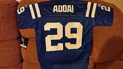 INDIANAPOLIS COLTS JOSEPH ADDAI  FOOTBALL JERSEY SIZE SM 8 YOUTH NWT STITCHED