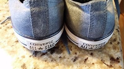 CONVERSE CHUCK TAYLOR LOW TOP SNEAKER ADULT SIZE WM 10 MN 8 DENIM LOOK