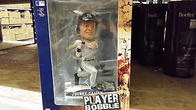 New York Yankees Johnny Damon Forever Collectibles On Field Bobble Head
