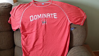 NWT NEBRASKA HUSKERS KA INC DOMINATE PERFORMANCE T SHIRT SIZE XL ADULT