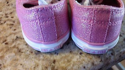 CONVERSE ALL STAR KIDS SIZE 7 LOW TOP CHUCK TAYLORS PINK TODDLER