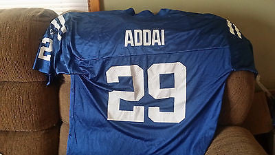 INDIANAPOLIS COLTS JOSEPH ADDAI JERSEY SIZE XL ADULT REEBOK/NFL PLAYERS