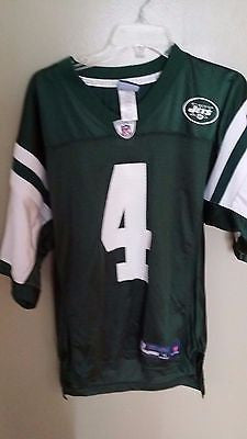 NEW YORK JETS BRETT FAVRE FOOTBALL JERSEY SIZE SMALL  ADULT NWT