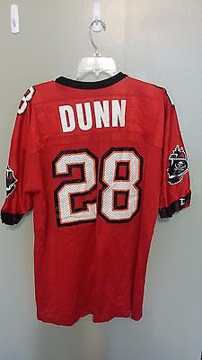 TAMPA BAY BUCCANEERS WARRICK DUNN FOOTBALL JERSEY SIZE 48 ADULT