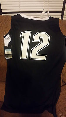 COLORADO BUFFALOES WOMENS NIKE BASKETBALL JERSEY SIZE MED ADULT NWT