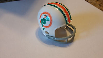 MIAMI DOLPHINS THROWBACK  2 BAR POCKET PRO HELMET