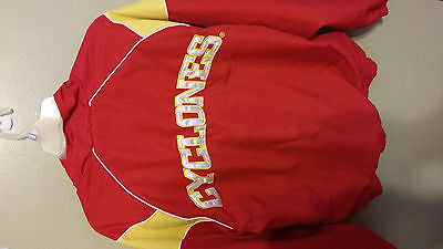 IOWA STATE CYCLONES LIGHTWEIGHT 1/4 ZIP PULLOVER JACKET SIZE SMALL ADULT