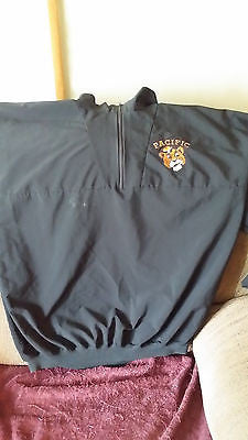 PACIFIC TIGERS VINTAGE LOGO LIGHTWEIGHT JACKET SIZE LARGE  ADULT
