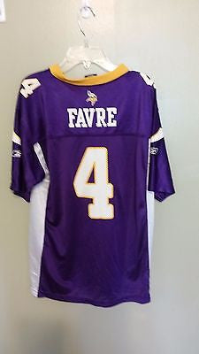 MINNESOTA VIKINGS BRETT FAVRE  FOOTBALL JERSEY SIZE XL 18-20 YOUTH #2