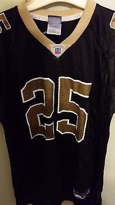 NEW ORLEANS SAINTS REGGIE BUSH FOOTBALL JERSEY SIZE XL YOUTH