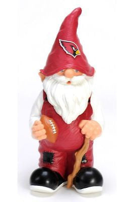 "ARIZONA CARDINALS Garden Gnome - 11"" Male"