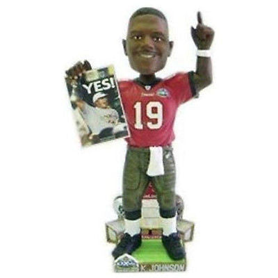 Tampa Bay Buccaneers NFL Keyshawn Johnson Super Bowl 37 Champ bobble head