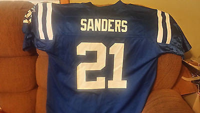 INDIANAPOLIS COLTS BOB SANDERS  FOOTBALL JERSEY SIZE XL REEBOK ADULT NFL