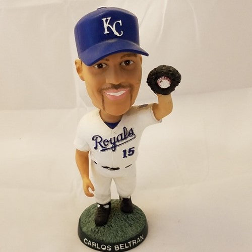 KANSAS CITY ROYALS CARLOS BELTRAN BOBBLE HEAD STADIUM GIVEAWAY
