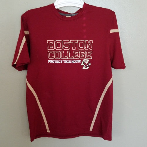 BOSTON COLLEGE EAGLES UNDER ARMOUR PERFORMANCE SHIRT SIZE SMALL ADULT