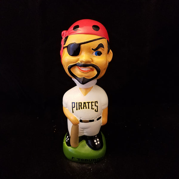 PITTSBURGH PIRATES VINTAGE LOOK JOLLY RODGER BOBBLEHEAD BOBBLE HEAD #1