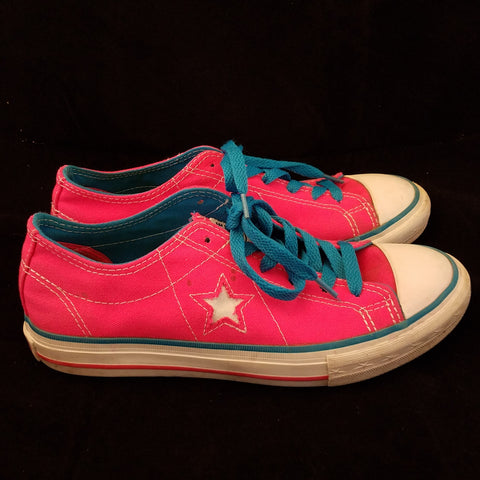 CONVERSE PINK CHUCK TAYLOR ALL STAR LOW SNEAKER ADULT SIZE WOMANS 6