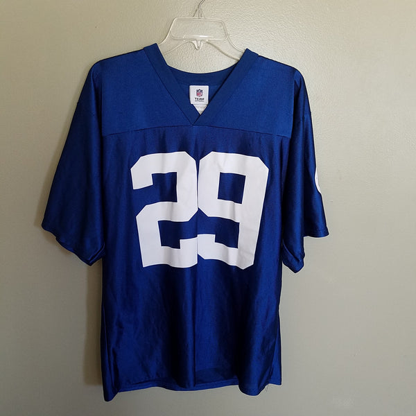 INDIANAPOLIS COLTS JOSEPH ADDAI FOOTBALL JERSEY SIZE MEDIUM ADULT
