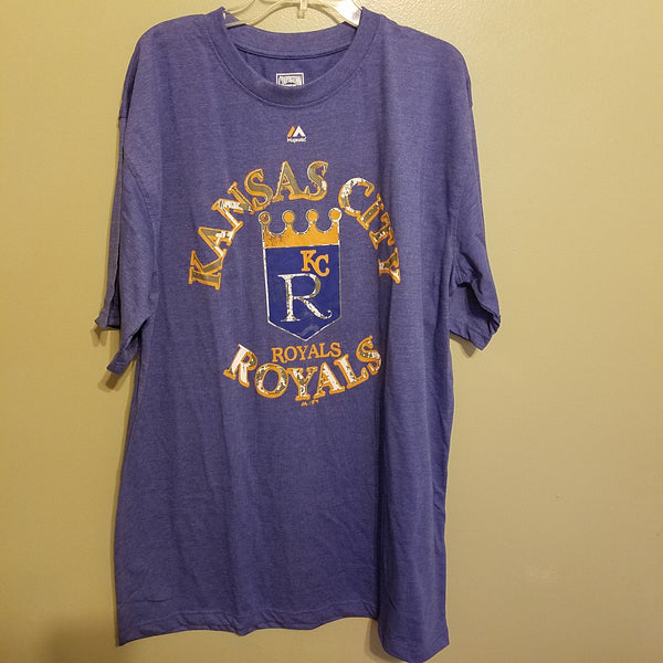 KANSAS CITY ROYALS NWT BIG & TALL  T SHIRT SIZE XLT ADULT