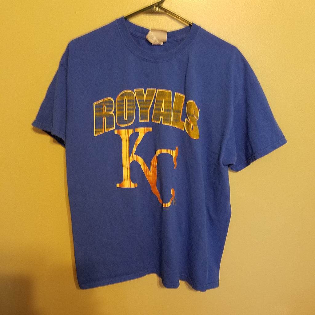 KANSAS CITY ROYALS MULTI COLORED  T SHIRT SIZE XL MLB ADULT
