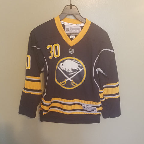 BUFFALO SABRES RYAN MILLER HOCKEY JERSEY SIZE SM/MED YOUTH