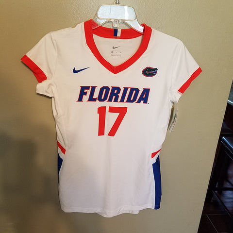 9980d72db FLORIDA GATORS NIKE VOLLEYBALL JERSEY SIZE MED ADULT NWT