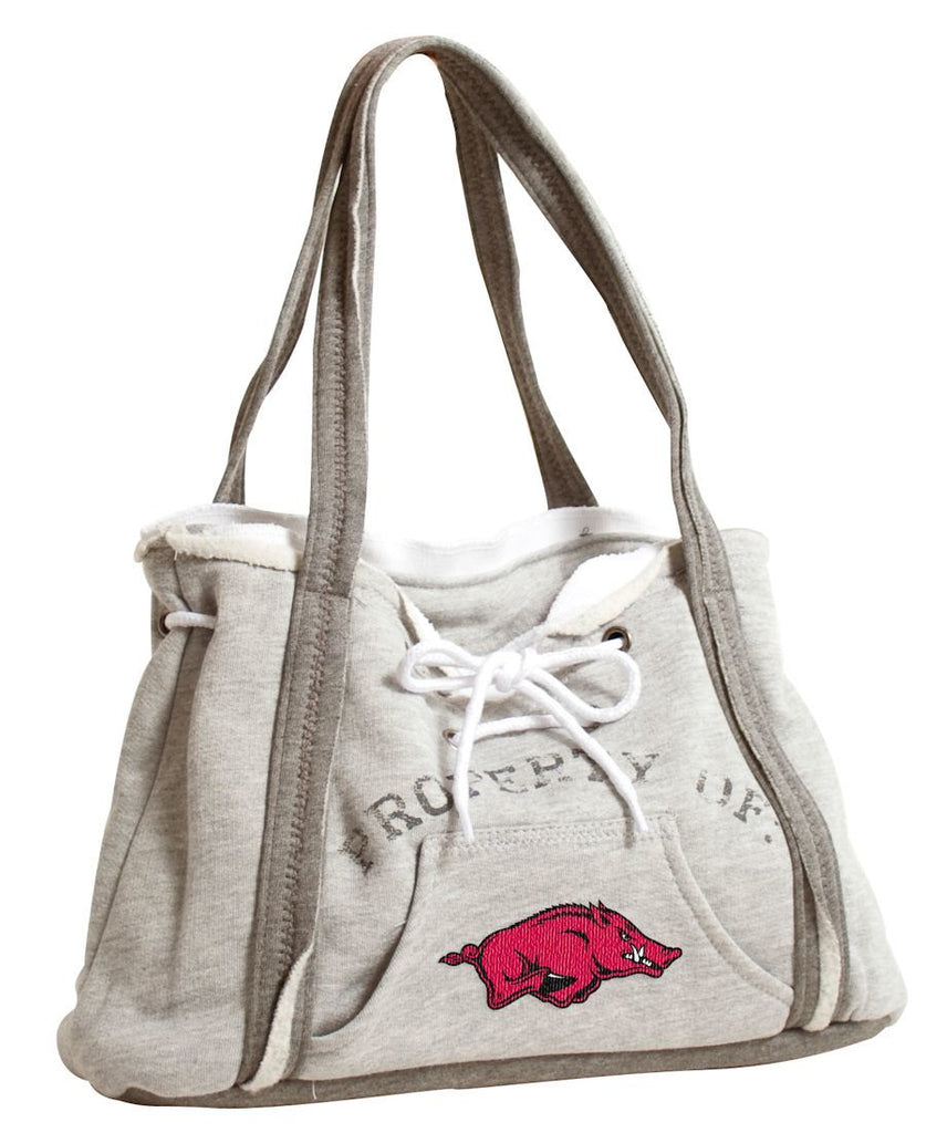 ARKANSAS RAZORBACKS NCAA GAMEDAY HOODIE PURSE HANDBAG