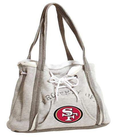 SAN FRANCISCO 49ERS NFL GAMEDAY HOODIE PURSE