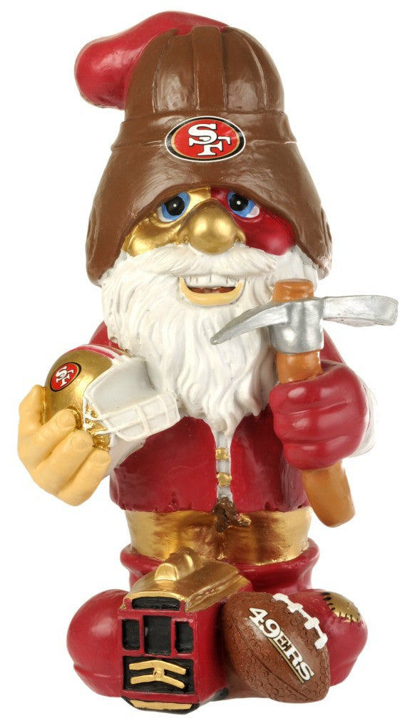 SAN FRANCISCO 49ERS GARDEN GNOME SECOND STRING Male NEW IN PACKAGE