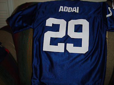 INDIANAPOLIS COLTS JOSEPH ADDAI  FOOTBALL JERSEY SIZE YL YOUTH