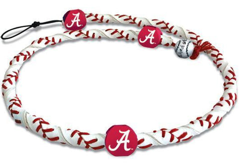 NCAA COLLEGE GAMEWEAR FROZEN ROPE LEATHER NECKLACE