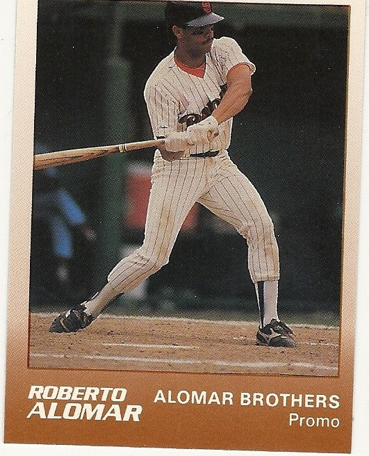 SAN DIEGO PADRES ROBERTO ALOMAR PROMO STAR AD CARD LOT OF 50
