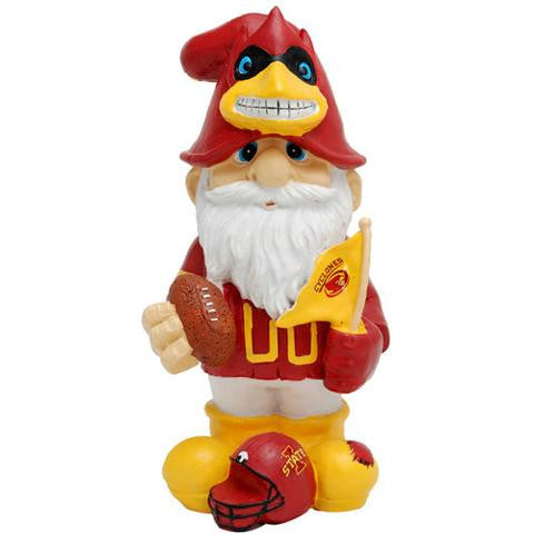 IOWA STATE CYCLONES GARDEN GNOME SECOND STRING Male NEW IN PACKAGE