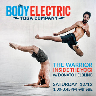 2017 - 12/02 - 1:30-3:45PM - Budokon Yoga: The Warrior Inside the Yogi @THE BODY ELECTRIC, SAINT PETERSBURG, FL