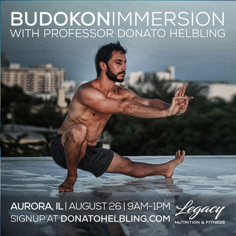 2018 - 08/26 - 9am to 1pm - BUDOKON IMMERSION: MOBILITY, MMA & PHILOSOPHY @Legacy, Aurora, IL